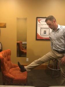 Improper Hamstring Stretch - Sciatica stretches