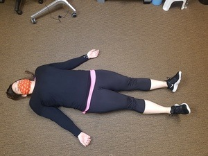 Corpse Pose Stretch | Thrive Now Physio