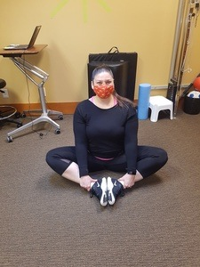 Butterfly Pose Stretch | Thrive Now Physio