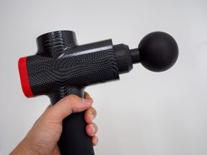 Massage Guns help with muscle tension, tightness, cramping, or generally sore muscles